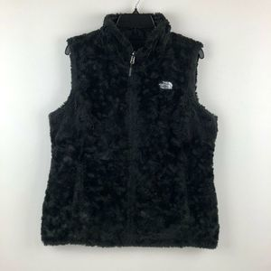 The North Face Reversible Mossbud Puffer Vest